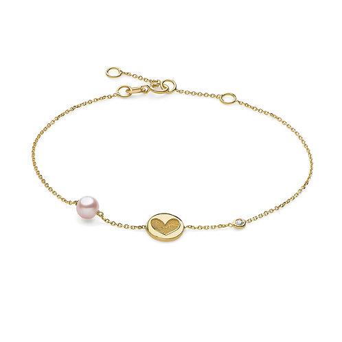 Bracciale in Oro con Perla
