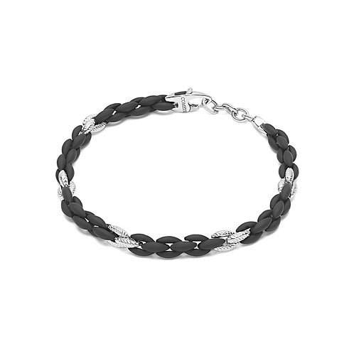 Bracciale Soft touch in argento