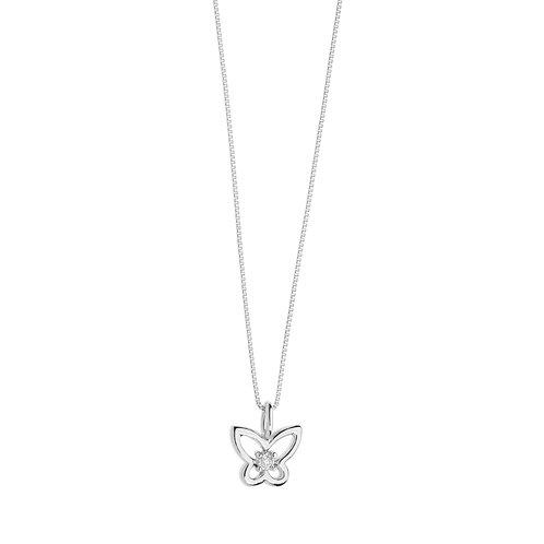 Collana Farfalla in Oro e diamante