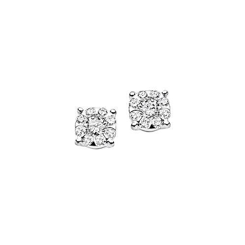 Orecchini in Oro 18 carati e Diamanti