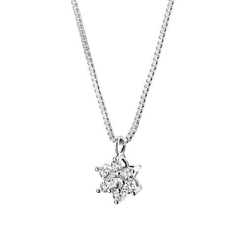 Girocollo in Oro 18 carati con Diamanti