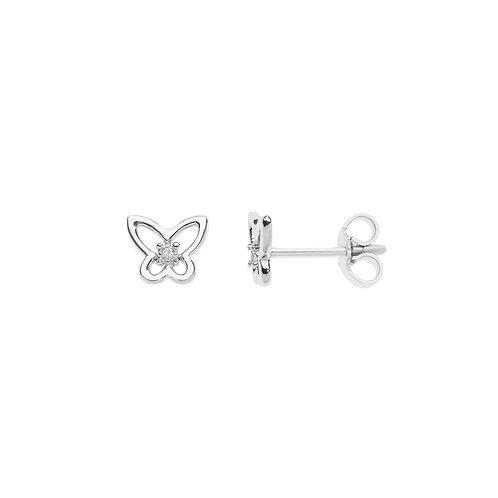 Orecchini Farfalle in Oro e diamanti