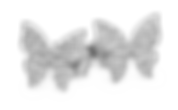 Orecchino in argento farfalle
