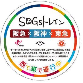 阪急×阪神×東急が協働ラッピング列車「SDGs トレイン2020」を9 月8 日(火)より運行します!