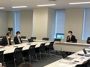 立憲民主党「SDGsに関するワーキングチーム」の会議に参加