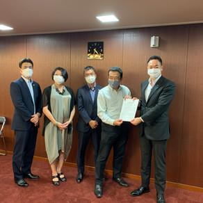 8/31 SDGs推進円卓会議がSDGs推進本部に提言書提出