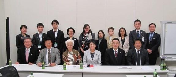 実施指針改定に関する自民党SDGs外交議連の会議。