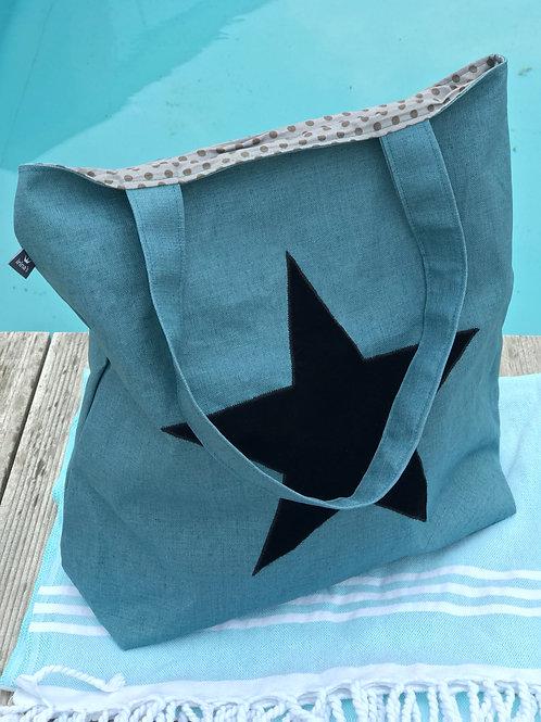 Stern-Tasche Grün