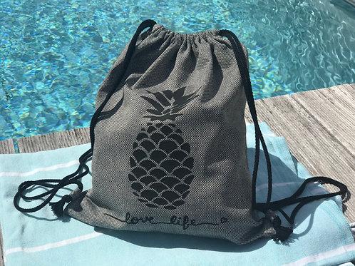 Pineapple-Bag Grau
