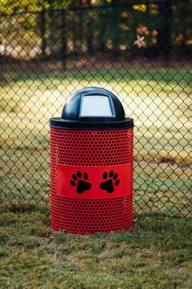 Carrollton-GA-Trash Receptacle-Perforate