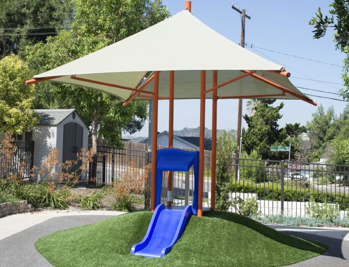 Playground Square Shade