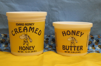 creamed honey and honey butter
