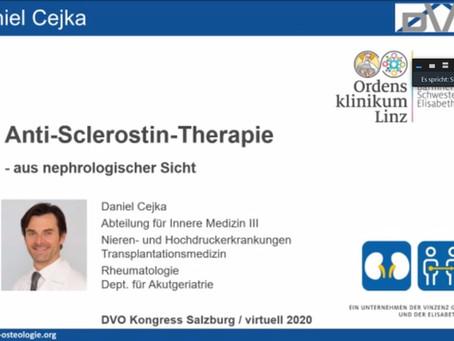 Vortrag über Knochen-aufbauende Therapie