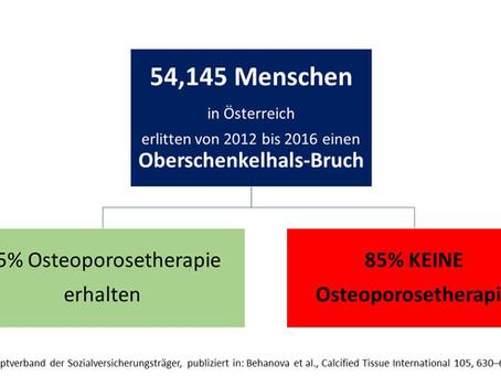 Osteoporose-Therapie: Unterversorgung in Österreich