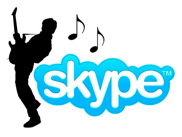 Online Guitar Lessons via Skype