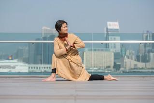 【體模說】瑜伽導師凝視身體 :進入禪修狀態 見證身體的歷史