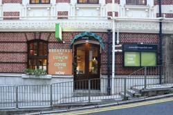 Entrance at Wyndham Street