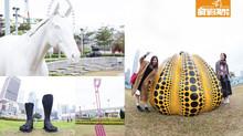 免費睇大師作!超過20件藝術雕塑!中環海濱「藝遊維港」潮拜草間彌生