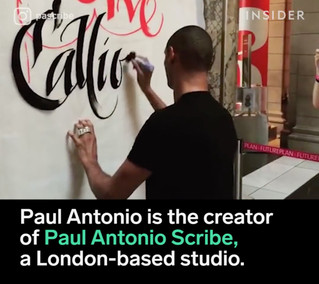 This master calligrapher is bringing his expertise to the people.