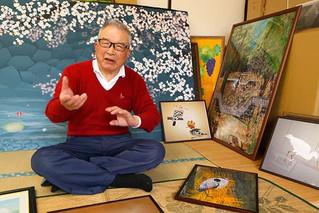 用 Excel 繪畫風景畫 77歲老伯:比繪圖軟件更好用