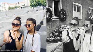 太多遊客在大屠殺紀念碑開心自拍「打卡」,德國藝術家 PS 改圖諷刺