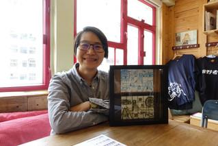 圖章工藝師刻出香港:西瓜波、鐵閘花紋、貓等成主角