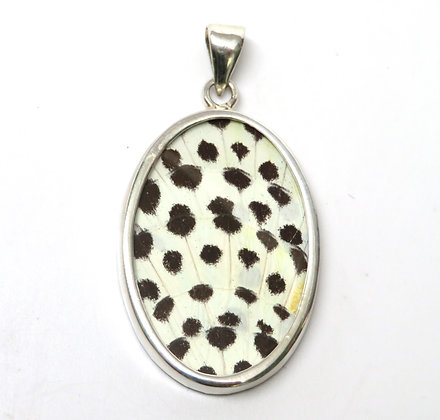 Large Spotted Butterfly Pendant