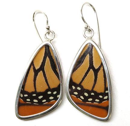 Medium Monarch Butterfly Earrings