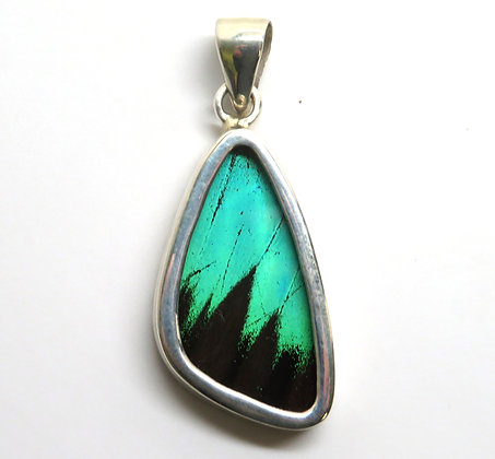 Small Green and Black Pendant