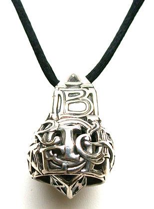 Sterling Silver Alphabet Bell