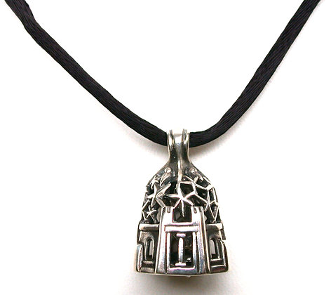 Sterling Silver Starry Night Bell