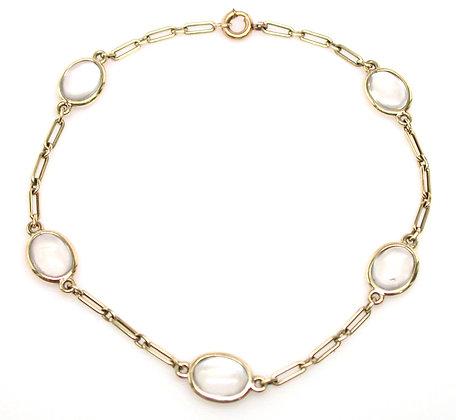 14kt Moonstone Bracelet