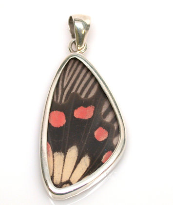 Black, Red and Creme Pendant