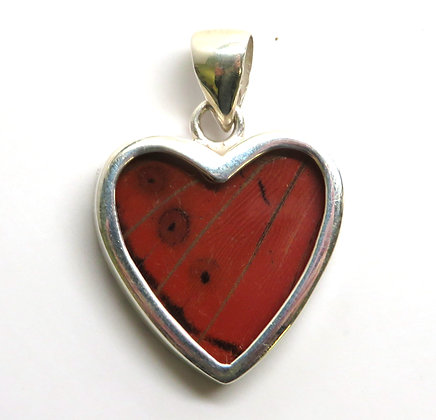 Small Red Heart Pendant