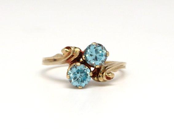 10K Zircon Ring