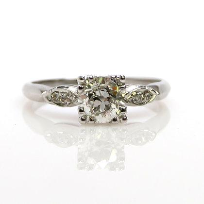 14K 0.51ct Diamond Engagement Ring
