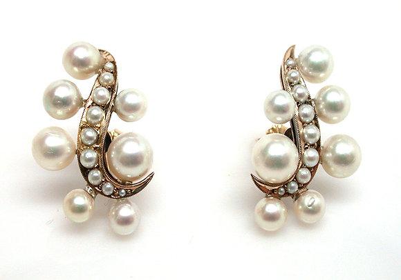 14kt Pearl Earrings