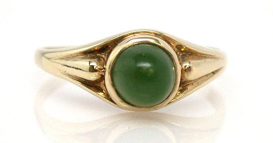 15kt Jade Ring