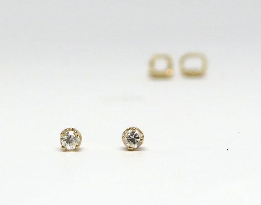 0.10ct Diamond Screw Back Studs