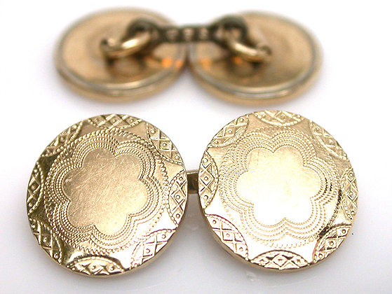 Gold Filled Clark Cuff Links