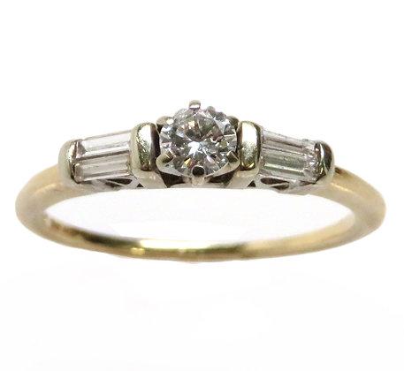 14kt 0.20 Carat Diamond Ring