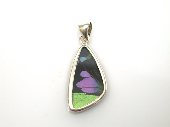 Purple, Green and Black Pendant