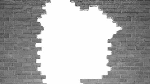 Header Background Image, Grayscale Brick