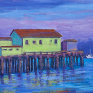 January Glow, Romeo's Pier