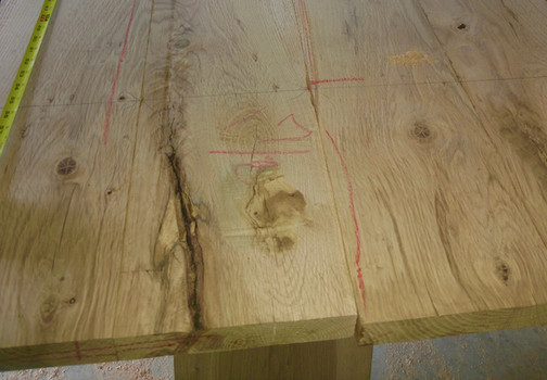 "Valley Oak lumber 5/4"""