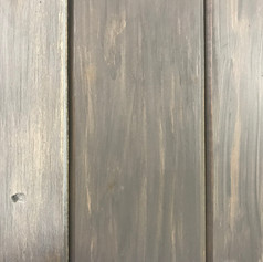 Reclaimed Pine with gray stain