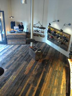 Reclaimed California Ranch Wood T&G Flooring