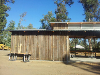Reclaimed California Ranch Wood - second life