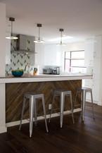 Reclaimed Pine square edge paneling