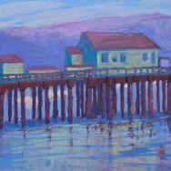 Early Evening, Romeo's Pier
